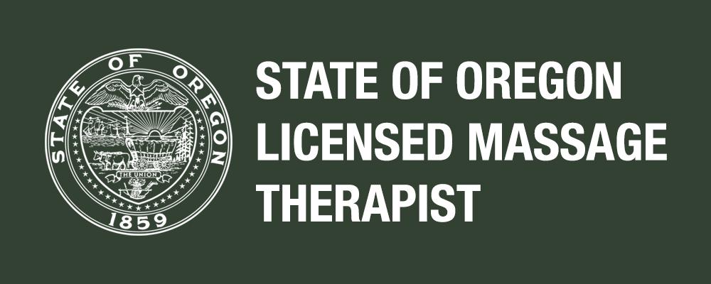 State of Oregon Licensed Massage Therapist