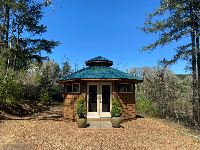 NW Vibrational Sound Therapy Yurt